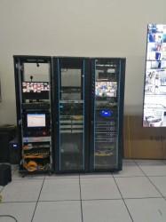 烟台海洋展览馆监控弱电项目完工。