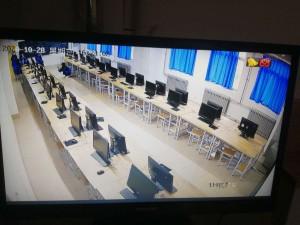 青州潍坊建校机房监控安装完毕2